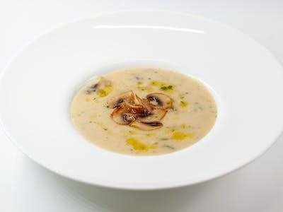 Supă cremă de ciuperci