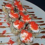Hosomaki z łososiem w tempurze - 8szt