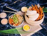 Wege Bao Set z frytkami z batata