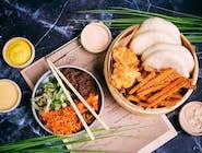 Dao Bao Set z frytkami z batatów