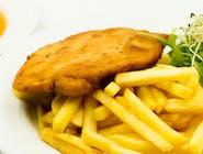 Panierowany filet z kurczaka