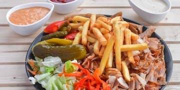 XXL Kebab na Talerzu<br><br>