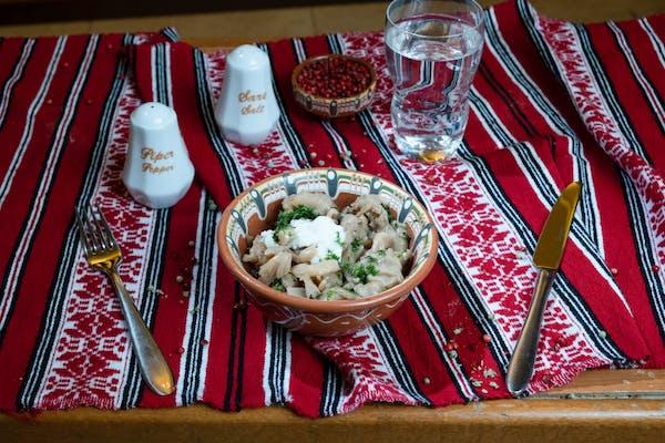 Salată de bureți Plueurotus