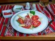 Salata capresse si prosciutto