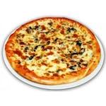Pizza Funghi e Salami