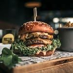 Big double Slovak Burger