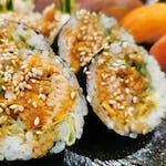 Grilled Salmon Futomaki