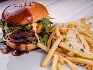 Hamburger de vită Black Angus