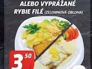 Rybie filé na masle s citrónovou omáčkou