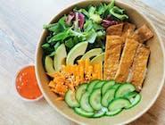 Bowl z tofu w słodkiej zalewie