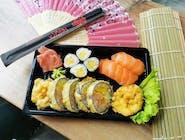Ebi tempura set - 12 szt (Zestaw dla 1-2 osób)