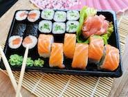 Salmon set - 18 szt (Zestaw dla 1-2 osób)