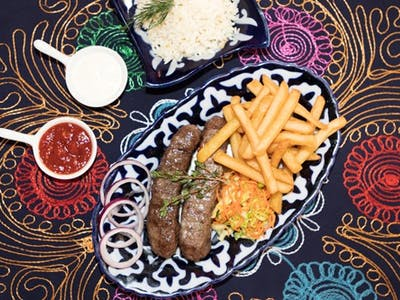 Lula kebab 2 pałki szaszłyków