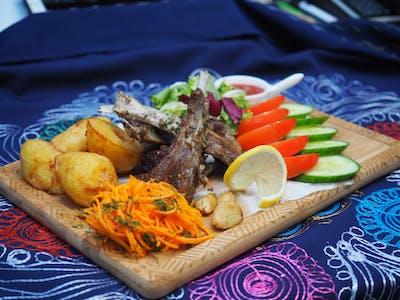 Kazan kebab z baraniną