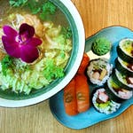 Nigiri Sake, Futomaki Classic + Zupa