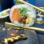 Futomaki Gravadlax + Zupa
