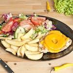 Filet z Kurczaka grillowany 160g z ananasem i serem