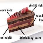 Dort Čokoláda & maliny