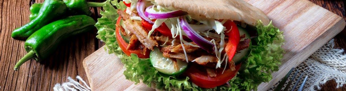 Kebab z posypką