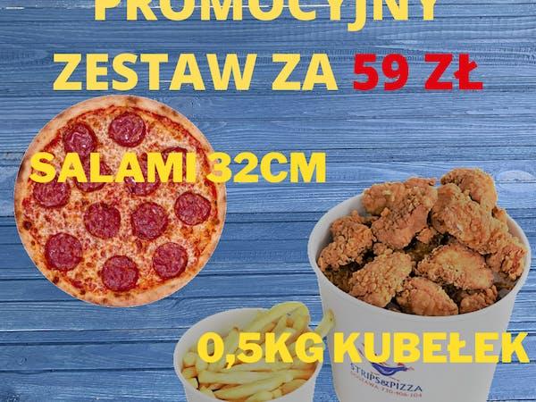 Zestaw STRIPS&PIZZA