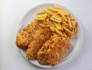 Polędwiczki z kurczaka (stripsy)