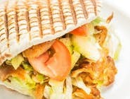 Kebab w bułce XXL