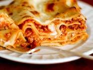 Weganska Lasagna bolognese