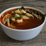 Zupa Seafood z 3 rodzajami ryb oraz krewetkami