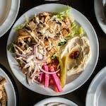 Talerz Shawarma Asli Tel Aviv