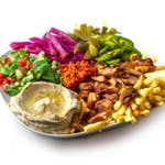 Talerz Shawarma Pargid Yaffo
