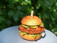 Vege Burger kasza jaglana (wersja bezglutenowa)