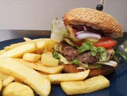 4.Cheesburger 100% wołowina