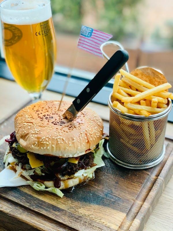 Burger Kapitan Ameryka