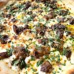 Pizza Bianco Funghi Di Bosco