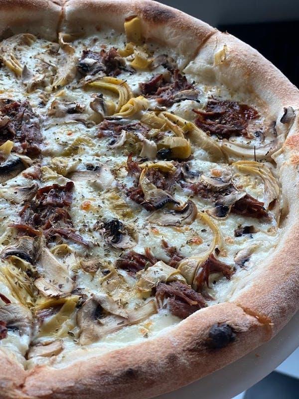 Pizza Bianco Manzo Di Squalo