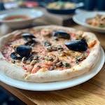 Pizza Rosso Frutti di Mare