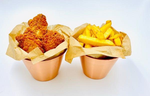 Aripioare Pane - cartofi prăjiți