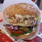 Cheeseburger drobiowy 🍔