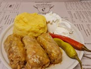 Meniu Sarmale+mamaliga+smantana+ardei iute