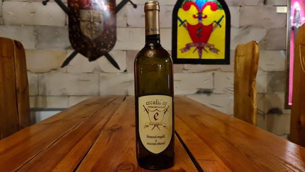 Vin Excalibur (Domeniile Panciu)Cupaj Feteasca Regala&Muscat Ottonel-Demisec