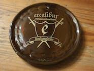 Suport de pahar din ceramica cu sigla Excalibur