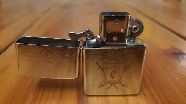 Bricheta metalica cu gravura Excalibur