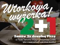 Wtorki - 2 +1 Gratis!