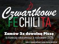 Czwartki-  2 +1 rabat 50%