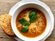 Krem pomidorowy z mozzarellą