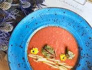 Chłodnik hiszpański z pomidorów (gazpacho)