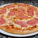 4. Pizza Prosciutto Cotto