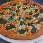 16. Pizza Spinaci e Gorgonzola