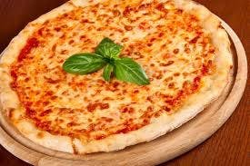 Pizza Margherita Blanca