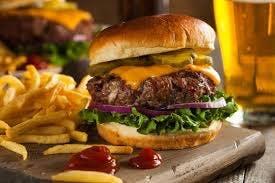 burger/frytki